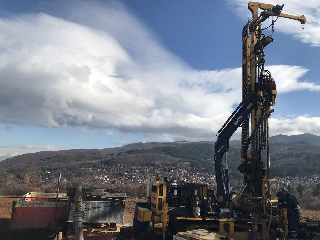 12.12.2019 – Приключи първият етап на геотермалната система за отопление