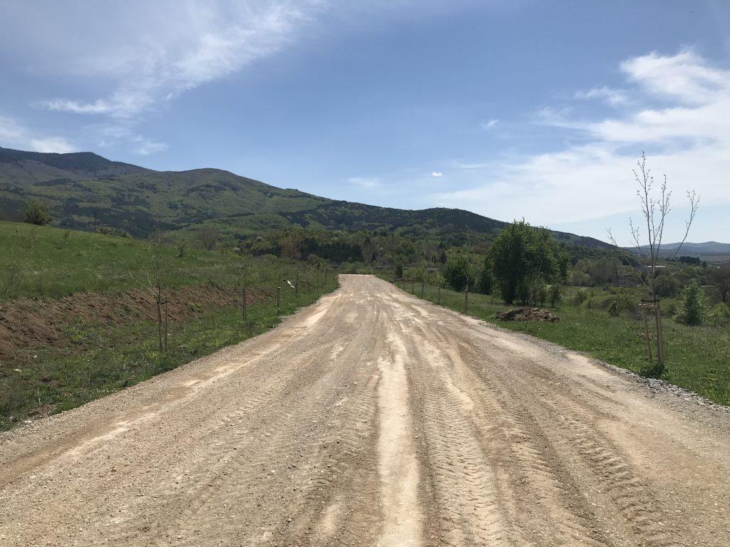 05.05.2020- рехабилитация на пътя до GREEN PARK SOFIA